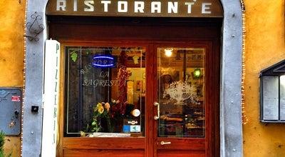 Photo of Italian Restaurant La Sacrestia at Via Del Seminario 89, Roma 00186, Italy