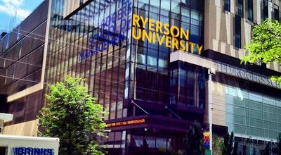 Photo of University Ryerson University at 350 Victoria St., Toronto, ON M5B 2K3, Canada