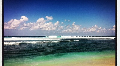Photo of Beach Green Bowl Beach at Jalan Raya Bali Cliff, Ungasan 80361, Indonesia