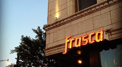 Photo of Italian Restaurant Frasca at 3358 N Paulina St, Chicago, IL 60657, United States