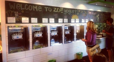Photo of Restaurant Zoeyogurt at 6900 E Green Lake Way N, Seattle, WA 98115, United States