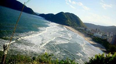 Photo of Beach Praia do Tombo at Av. Prestes Maia, Guarujá, Brazil