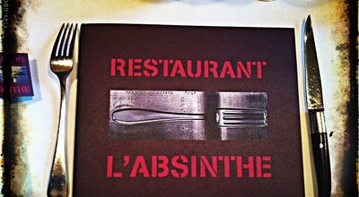 Photo of French Restaurant L'Absinthe at 24, Place Du Marché Saint-honoré, Paris 75001, France