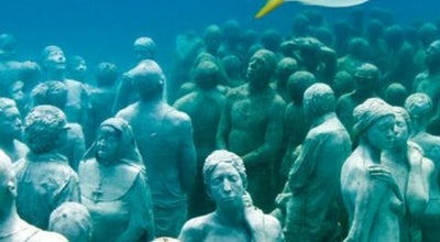Photo of Art Museum MUSA Underwater Museum at Caribbean Sea, Cancún, Mexico