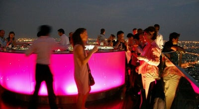 Photo of Nightclub Sky Bar, Bangkok at The Dome At Lebua, 1055, Silom Road, Bangkok 10500, Thailand