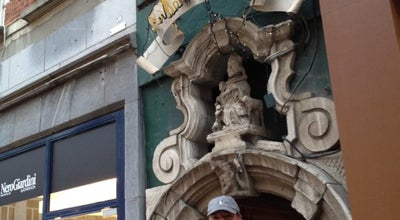 Photo of Belgian Restaurant Au Bon Vieux Temps at Impasse St.nicholas 4 Rue Du Marche Aux Herbes 12, Brussels 1000, Belgium