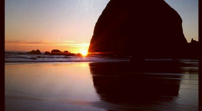 Photo of Beach Haystack Rock at Highway 101, Cannon Beach, OR 97110, United States