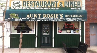 Photo of Diner Aunt Rosie's Restaurant & Diner at 4357 11th St, Long Island City, NY 11101, United States