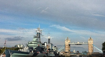 Photo of English Restaurant HMS Belfast at Morgan's Lane, London SE1 2JH, United Kingdom