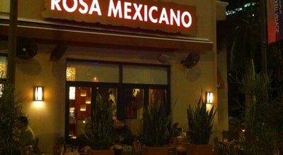 Photo of Mexican Restaurant Rosa Mexicano at 900 S Miami Ave, Miami, FL 33130, United States