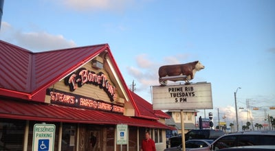 Photo of American Restaurant T-Bone Tom's Meat Market at 707 Highway 146, Kemah, TX 77565, United States