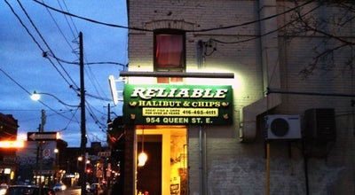 Photo of Seafood Restaurant Reliable Fish & Chip at 954 Queen St E, Toronto, Canada
