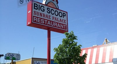 Photo of American Restaurant Big Scoop Sundae Palace at 327 E College Way, Mount Vernon, WA 98273, United States