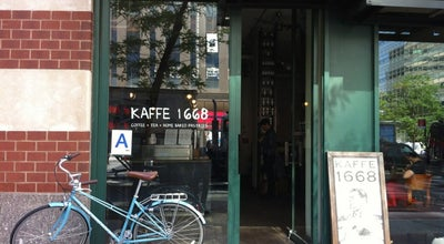 Photo of Cafe Kaffe 1668 at 275 Greenwich St, New York, NY 10007, United States