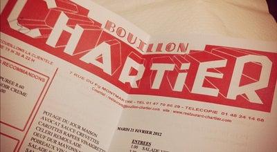 Photo of Bistro Bouillon Chartier at 7 Rue Du Faubourg Montmartre, Paris 75009, France
