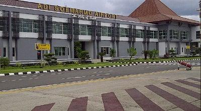 Photo of Airport Adi Soemarmo International Airport (SOC) at Jalan Bandara Adi Soemarmo, Boyolali, Jawa Tengah 57108, Indonesia