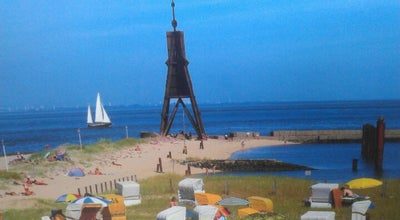 Photo of Beach Strand Kugelbake at Cuxhaven, Germany
