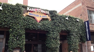 Photo of American Restaurant Karl Strauss Brewery & Restaurant at 1157 Columbia St, San Diego, CA 92101, United States