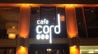 Photo of Modern European Restaurant Cafe Cord at Sonnenstr. 19, Munich 80331, Germany