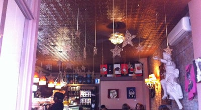 Photo of Coffee Shop Tango Palace Coffee Company at 1156 Queen St E, Toronto, ON M4M 1L2, Canada