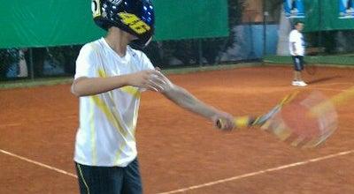 Photo of Tennis Court Quadras de Tênis at Clube De Campo De Mogi Das Cruzes, Mogi das Cruzes 08780-240, Brazil
