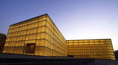 Photo of Convention Center Palacio de Congresos Kursaal at Av. Zurriola 1, Donostia-San Sebastián 20002, Spain