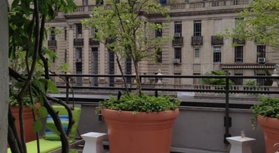 Photo of Hotel Bar Sky Terrace at Hudson Hotel at 356 W 58th St, New York, NY 10019, United States