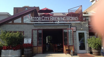 Photo of Bar Motor City Brewing Works at 470 W Canfield St, Detroit, MI 48201, United States