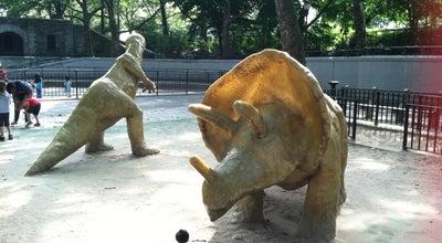 Photo of Playground Dinosaur Playground at Riverside Dr, New York, NY 10024, United States