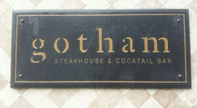 Photo of American Restaurant Gotham Steakhouse & Cocktail Bar at 615 Seymour St, Vancouver, BC V6B 3K3, Canada