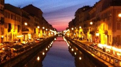 Photo of Pedestrian Plaza Naviglio Grande at Alzaia Naviglio Grande, Milano 20143, Italy