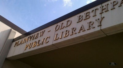 Photo of Library Plainview-Old Bethpage Public Library at 999 Old Country Rd, Plainview, NY 11803, United States