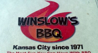 Photo of American Restaurant Winslow's City Market Barbecue at 20 E. 5th Street, Kansas City, MO 64106, United States