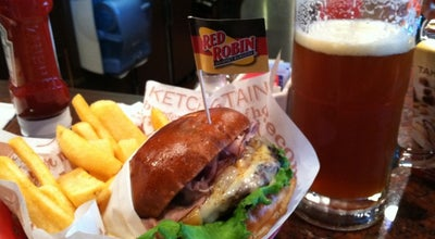 Photo of American Restaurant Red Robin Gourmet Burgers at 9904 N Newport Hwy, Spokane, WA 99218, United States