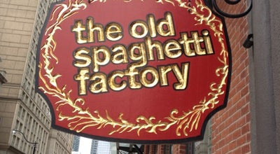 Photo of Italian Restaurant Old Spaghetti Factory at 54 The Esplanade, Toronto 92805, Canada