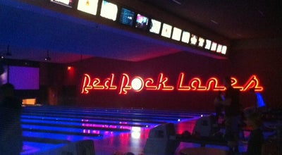Photo of Bowling Alley Redrock Bowling Alley at Las Vegas, NV, United States