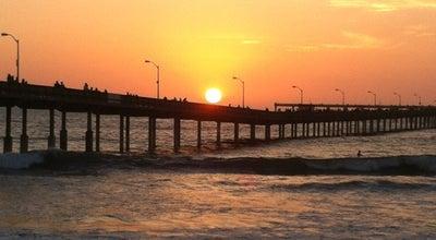 Photo of American Restaurant Ocean Beach Pier Cafe at 5091 Niagara Ave, San Diego, CA 92107, United States