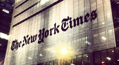 Photo of Building New York Times Building at 620 8th Ave, New York, NY 10018, United States