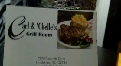 Photo of American Restaurant Carl & Chelle's Grill Room at 702 Corporate Dr., Goldsboro, NC 27534, United States