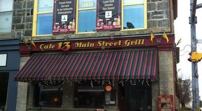 Photo of American Restaurant Cafe 13 Main Street at 13 Main St, Cambridge N1R 7G9, Canada