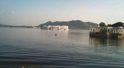 Photo of Lake Gangaur Ghat at Pichhola Lake, Udaipur, India