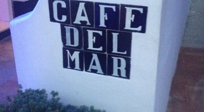 Photo of Cocktail Bar Cafe Del Mar at Carrer De Gaspar Puig 7, Sant Antoni de Portmany 07800, Spain