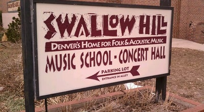 Photo of Performing Arts Venue Swallow Hill Music at 71 E Yale Ave, Denver, CO 80210, United States