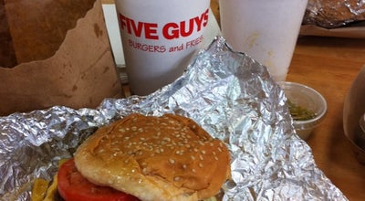 Photo of Burger Joint Five Guys Burgers & Fries at 2427 Park Ave, Tustin, CA 92782, United States