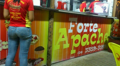 Photo of Burger Joint Forte Apache Lanches at R. Do Rosário, 1275-1409, Resende 27520-071, Brazil