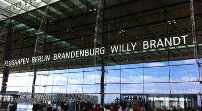 Photo of Airport Berlin Brandenburg Airport Willy Brandt (BER) at Willy-brandt-platz 1, Schönefeld 12529, Germany