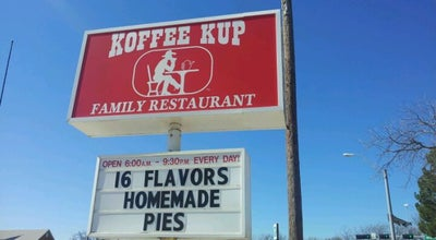 Photo of American Restaurant Koffee Kup Family Restaurant at 300 W 2nd St, Hico, TX 76457, United States
