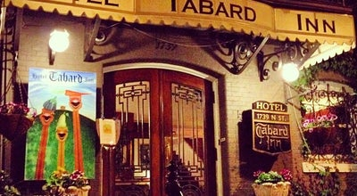 Photo of American Restaurant Tabard Inn Restaurant at 1739 N St Nw, Washington, DC 20036, United States
