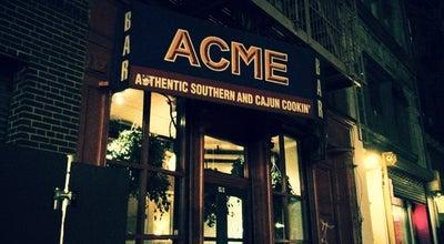 Photo of American Restaurant ACME at 9 Great Jones St, New York, NY 10012, United States