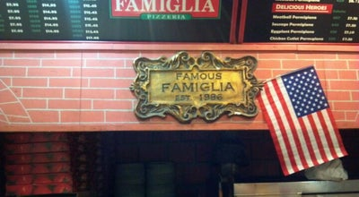 Photo of Pizza Place Famous Famiglia at 1398 Madison Ave, New York, NY 10029, United States